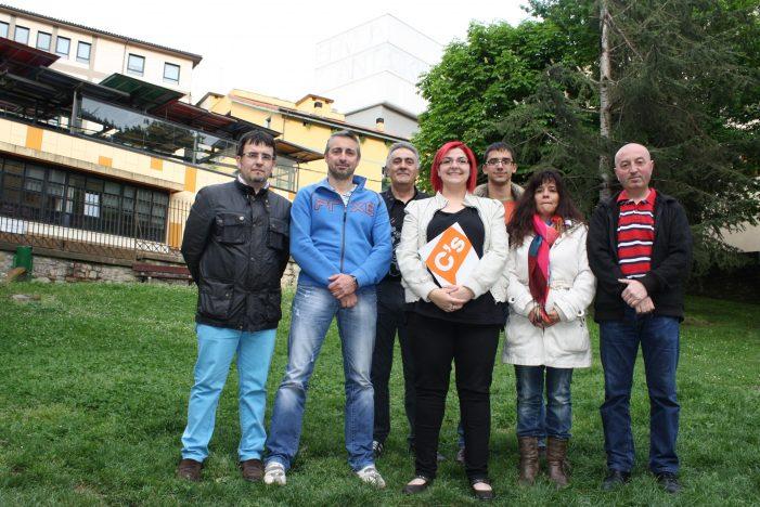 Rosana Macieira candidata a alcaldesa por C´s Ermua