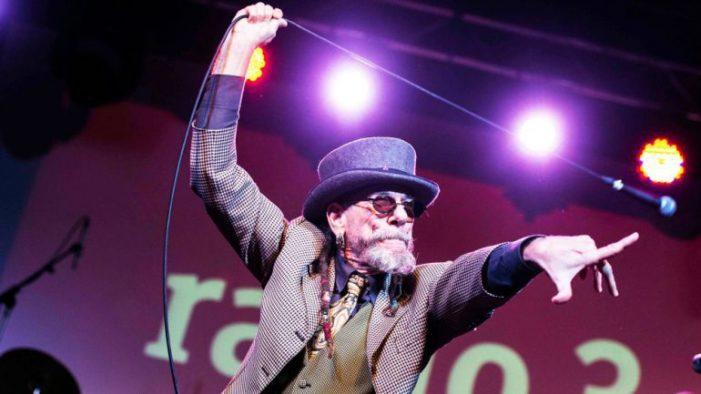 El ex vocalista de Barricada «El Drogas», éste viernes en el Antzoki