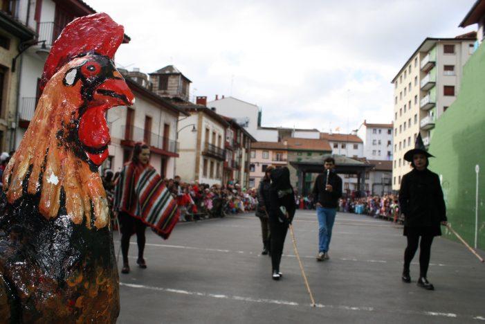 El carnaval de Ermua arranca con la prueba del Gallo