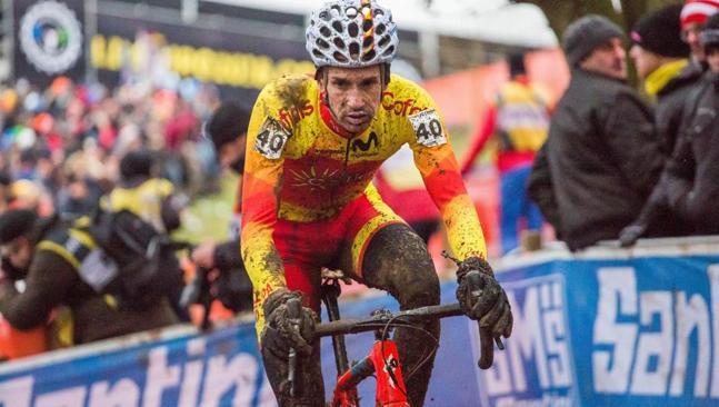 45ª posición para Hernández en su sexto mundial de ciclocross