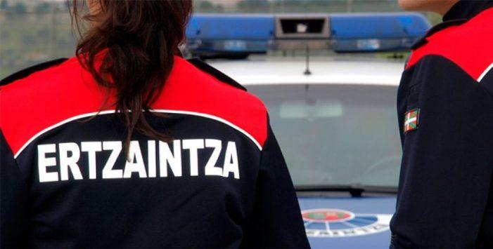 Detenido por robar un turismo y provocar dos accidentes en Eibar