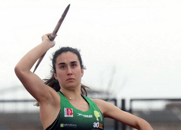 Leire Gorritxategi, plata, en el campeonato de España Universitario
