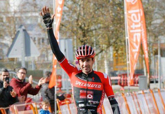 Victoria en Lezama y campeón de Bizkaia de ciclocrós