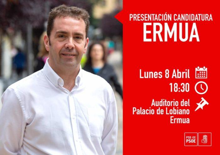 El PSE de Ermua presenta su candidatura el 8 de abril en Lobiano