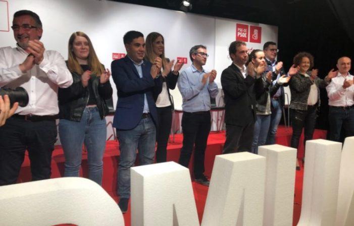 Txitxo Abascal encabeza la candidatura del PSE-EE a la alcaldía de Ermua