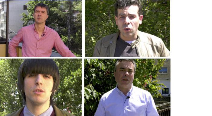 Entrevistas electorales a EhBildu, E. Podemos, PP y PNV