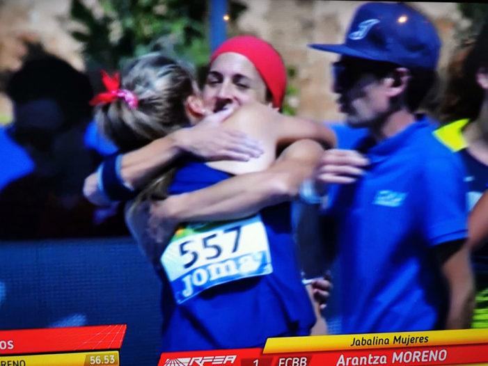Arantza Moreno se corona en La Nucia como campeona de España